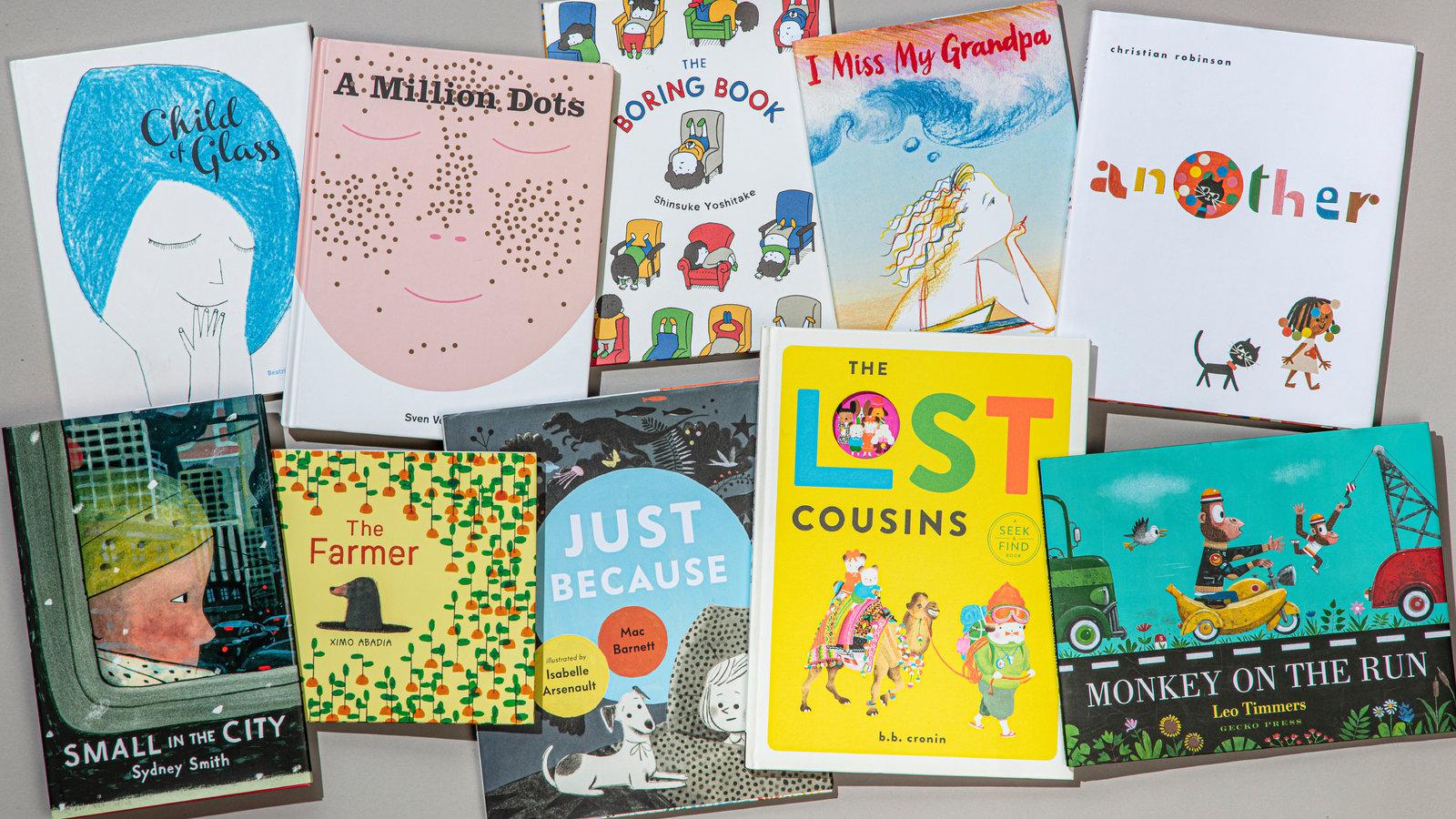 ілюстровані дитячі книжки