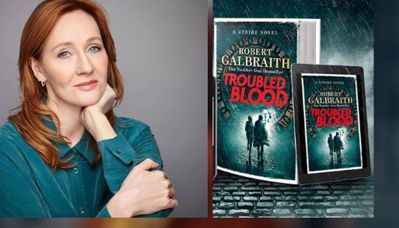 «Troubled Blood» нова книжка Джоан Роулінг