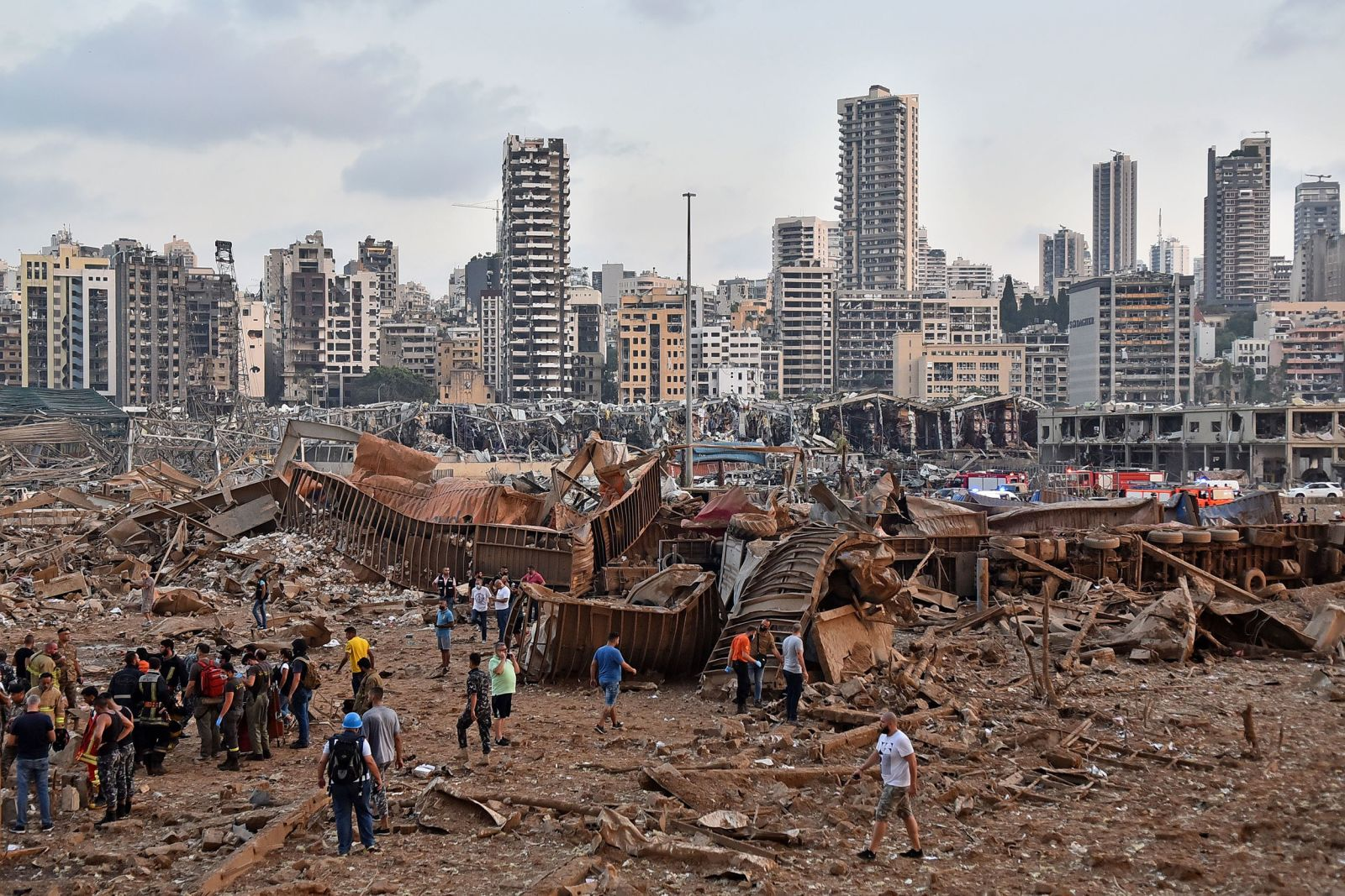 Бібліотеки Бейрута після вибуху