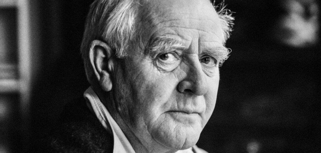 Помер відомий англійський письменник, автор шпигунських трилерів Джон Ле Карре