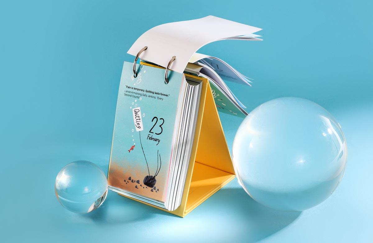 Inspiring calendar Gifty