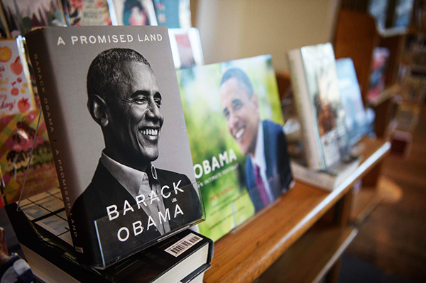 Мемуари колишнього президента США Барака Обами «Земля обітована»
