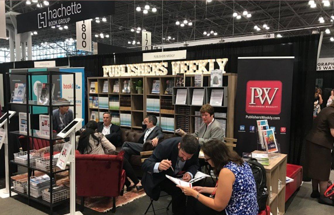 Медіахолдинг Publishers Weekly тепер організує найбільшу книжкову виставку США