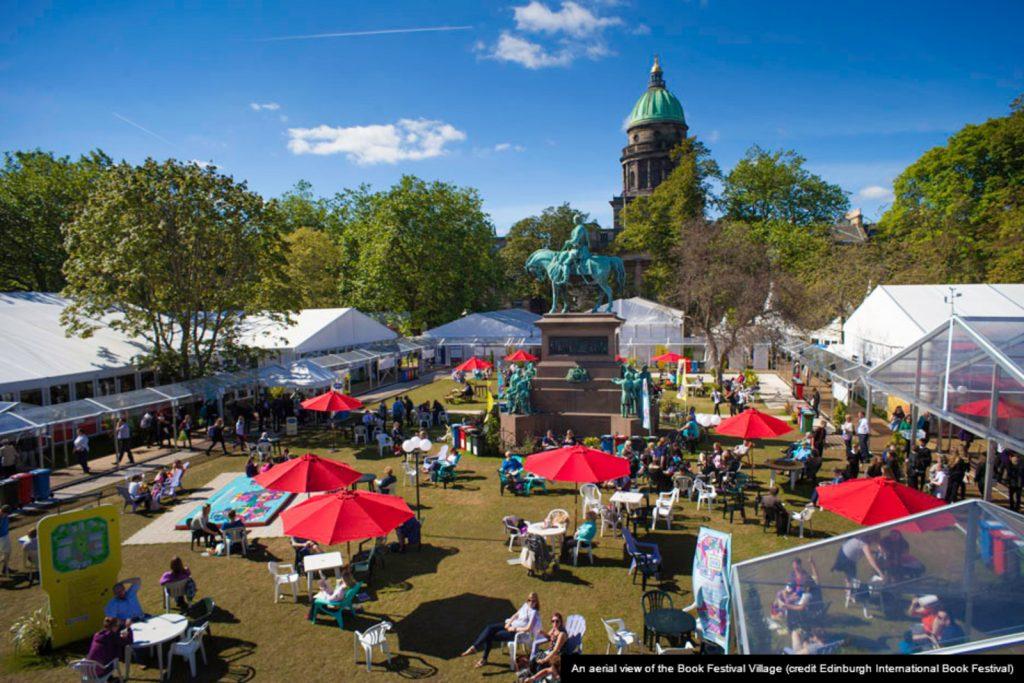 Единбурзький книжковий фестиваль цьогоріч планує частково повернутися в офлайн