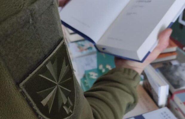 Бібліотекам військових частин передадуть 50 тисяч книжок