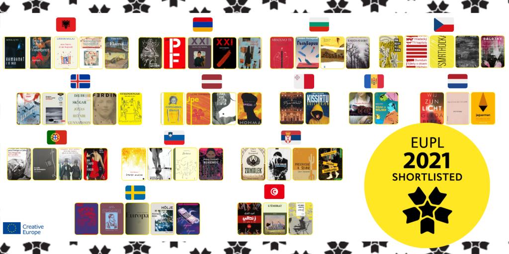Літературна премія Європейського Союзу оголосила короткий список