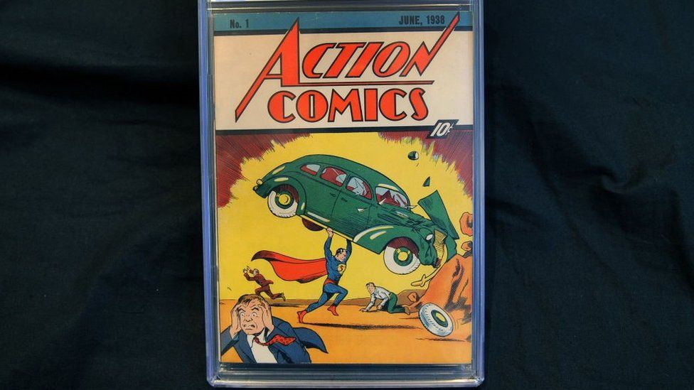 Рідкісний комікс про Супермена продали за 3,25 млн доларів