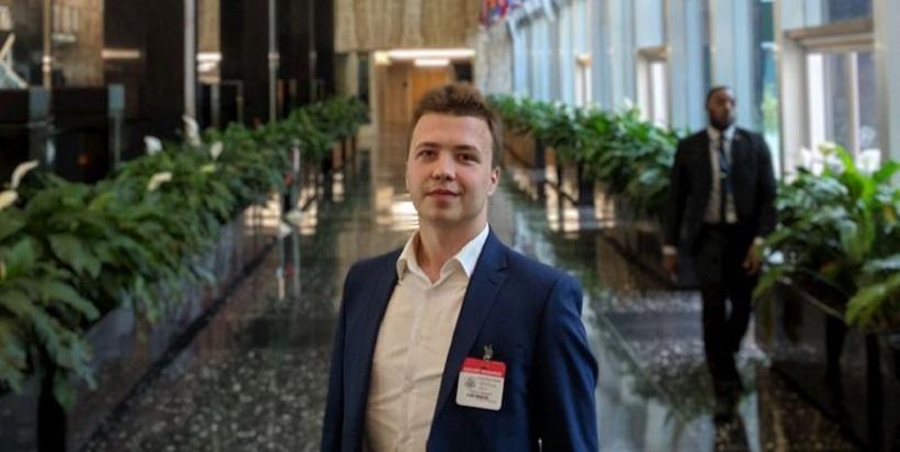 Український ПЕН закликає звільнити білоруського журналіста Рамана Пратасевіча