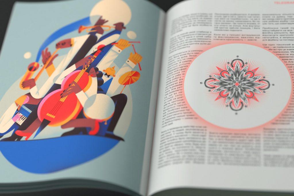 Telegraf випустить друкований журнал про дизайн