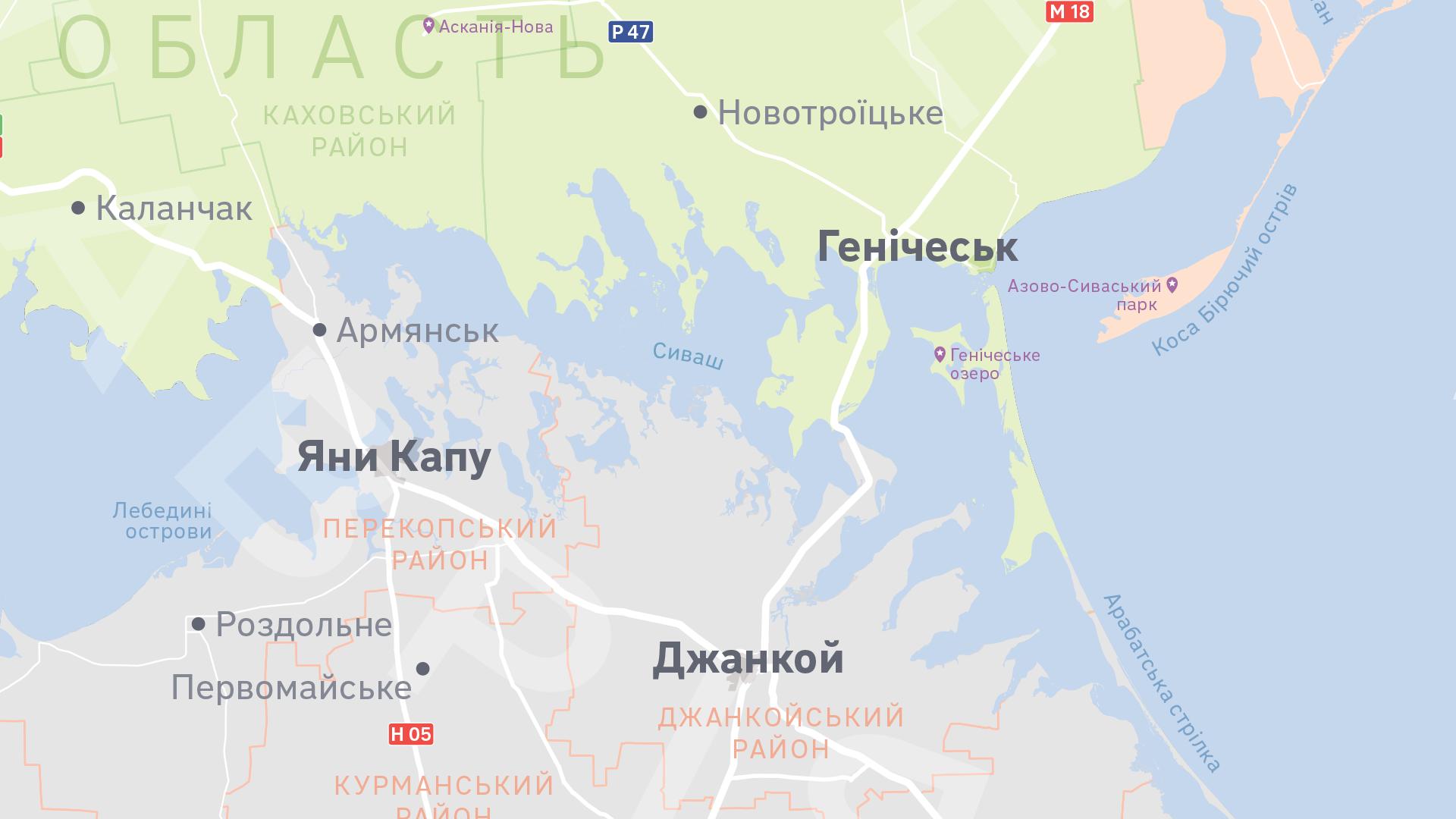 мапа Ukraїner
